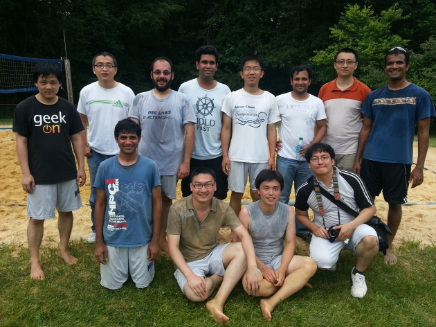 The Computing Systems Architectur team, winner of the tournament