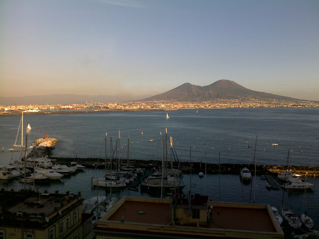 The Gulf of Naples as seen from Castel dell'Ovo