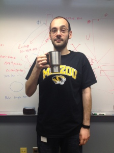 Day 0: Last coffee before starting the experiment.